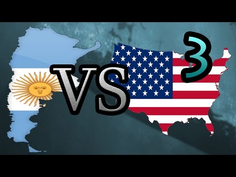 Argentina vs USA [3] Hearts of Iron IV HOI4