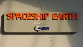360º Ride on Jeremy Irons Narrated Spaceship Earth (1994 audio) at EPCOT