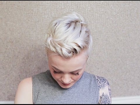 twisted pixie cut hairstyle