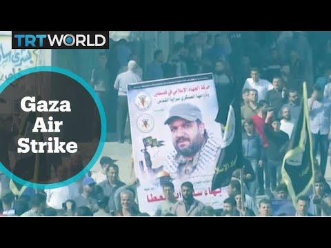 Gaza Air Strike: Israeli army kills Palestinian group's leader