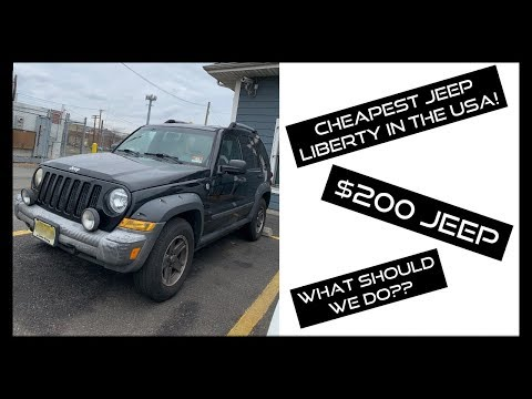 I JUST BOUGHT THE CHEAPEST JEEP LIBERTY IN THE COUNTRY! ( $200 Jeep Liberty Bought In The USA)