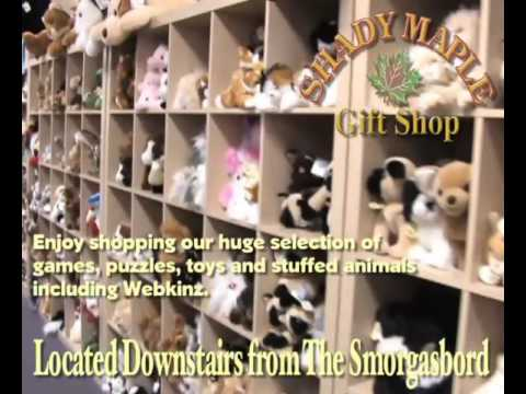 Shady Maple Gift Shop - YouTube