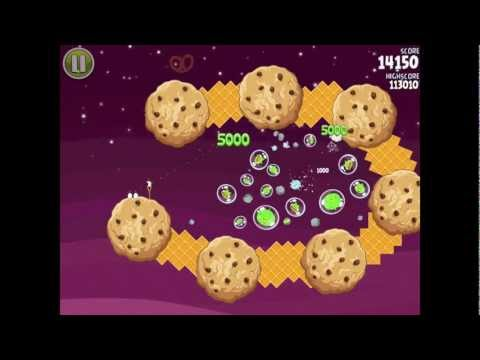 Angry Birds Space S-10 Utopia Bonus Level Walkthrough