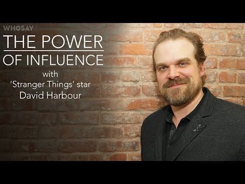 Stranger Things Star David Harbour Drops Some Wisdom on Acting and Social Media  WHOSAY