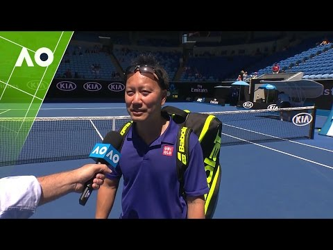 Legends: Chang/Martin v McEnroe/McEnroe on court interview (3R) | Australian Open 2017