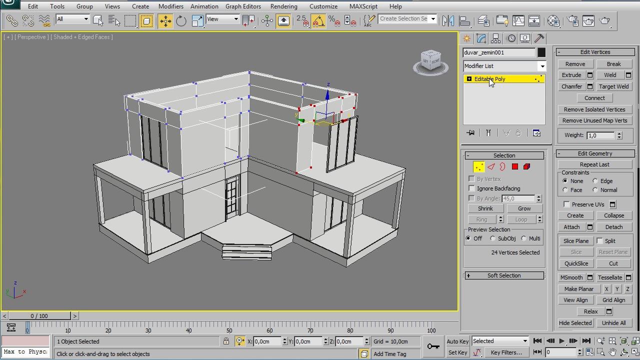 3dsMAX Architectural (Speed) Modeling By Sinan Ilkaz