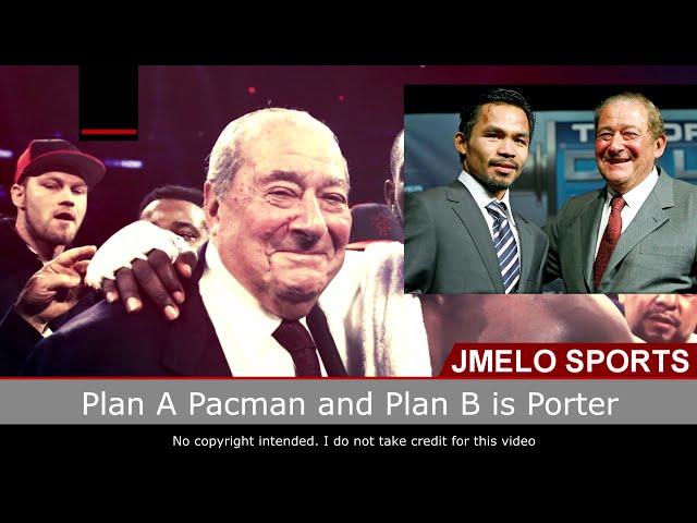 Manny Pacquiao Plan A Crawford Plan B Porter in Dubai