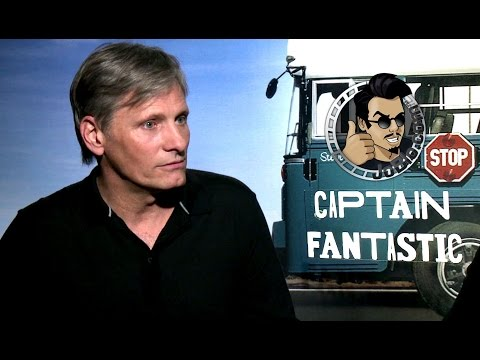 Exclusive: Viggo Mortensen & Matt Ross Interview - CAPTAIN FANTASTIC (2016)