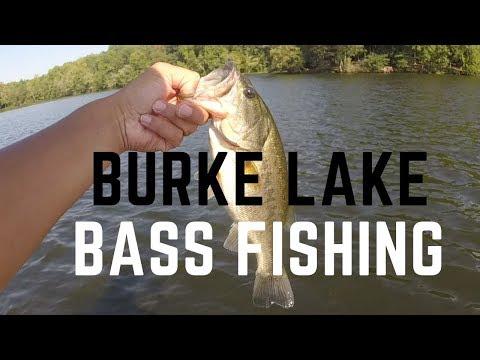 BASS FISHING At Burke Lake In Fairfax County: ROUND 2