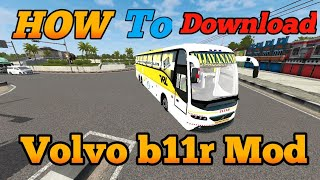 How To Download & Install Volvo b11r mod for bus simulator Indonesia    Volvo b11r Mod BUSSID screenshot 5