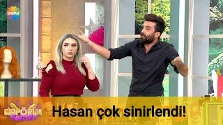 Hasan çok sinirlendi!