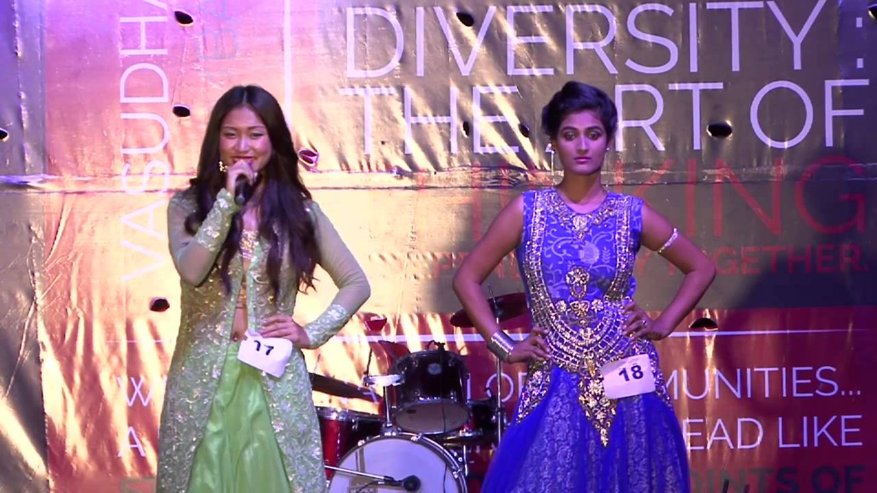 Fashion Show In Freshers 2015 Sharda University Youtube