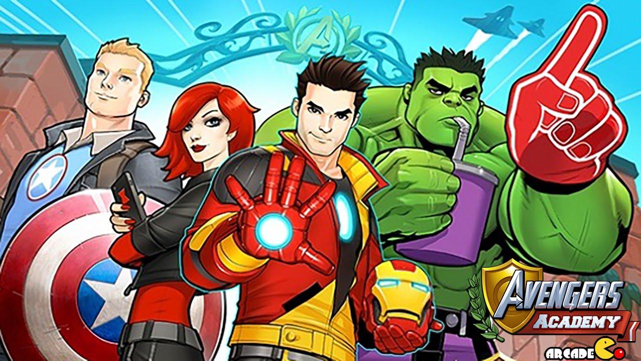 marvel avengers academy build your dream super hero