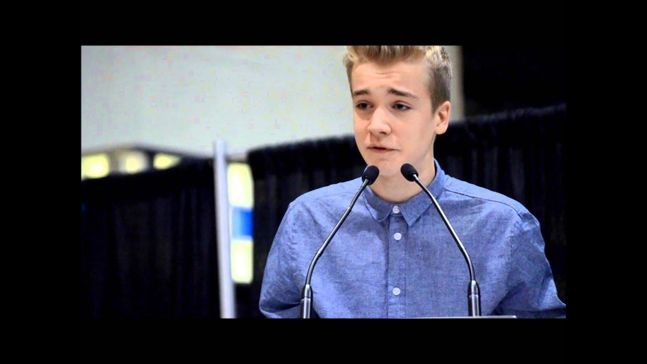 Owen Torrey - Toronto International Book Fair