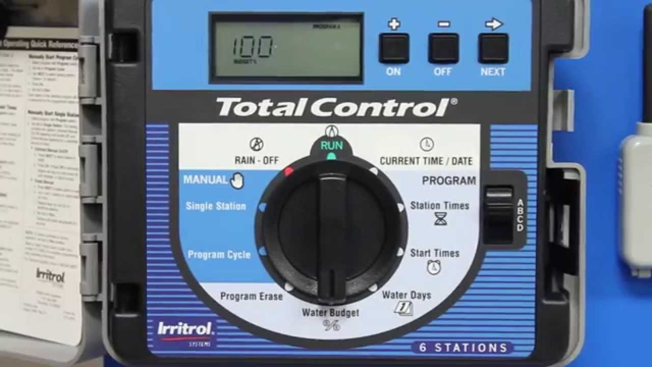 How to Change Percent Adjust on the Irritrol TotalControl (Spanish Version)