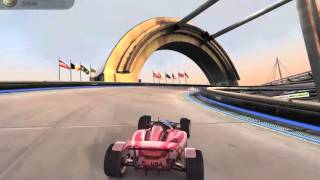 Trackmania Nations Forever - Gameplay (PC)