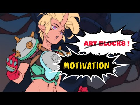 THE ONLY 4 ART TIPS YOU NEED TO STAY MOTIVATED 24/7