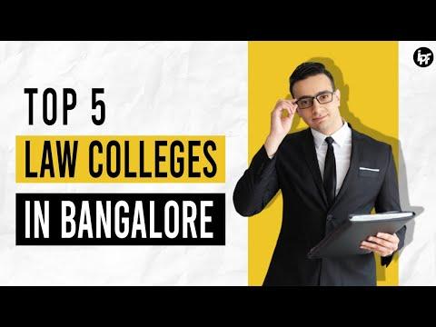 TOP 5 law colleges of Bangalore |   बैंगलोर  के सर्वश्रेष्ठ