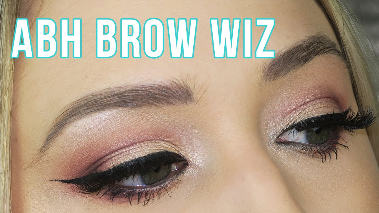 Anastasia Beverly Hills Brow Wiz Review Youtube