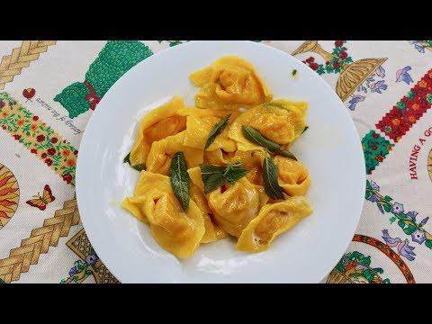 How to Make Pumpkin Ravioli or Cappellacci di Zucca | Pasta Grannies