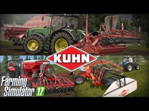 Farming Simulator 17 DLC KUHN ☆ Prezentacja, nowe maszyny, przebudowa pokoju  ㋡ MafiaSolec