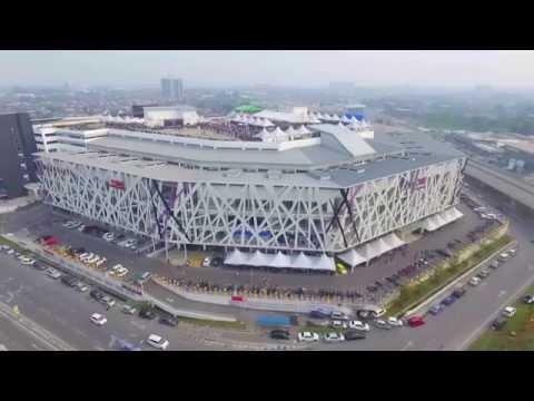 Aerial View - Kuching International Bike Week - Cityone Shopping Mall
