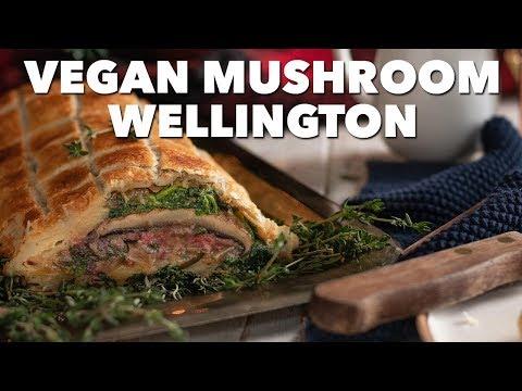 Vegan Mushroom Wellington | #HowToVeganTheHolidays