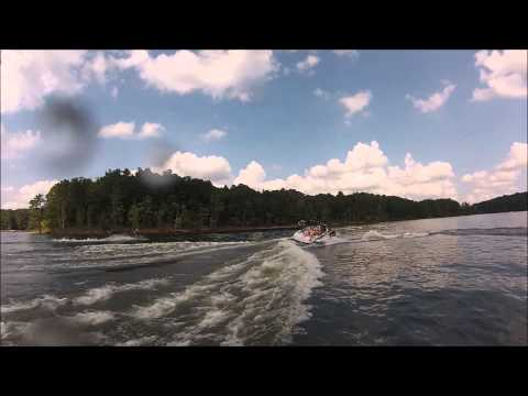 Ryan & Jordan backflips at Falls Lake, NC