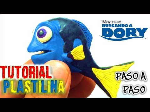 ✅COMO HACER DORY DE PLASTILINA PASO A PASO ✅ MI MUNDO DE PLASTILINA