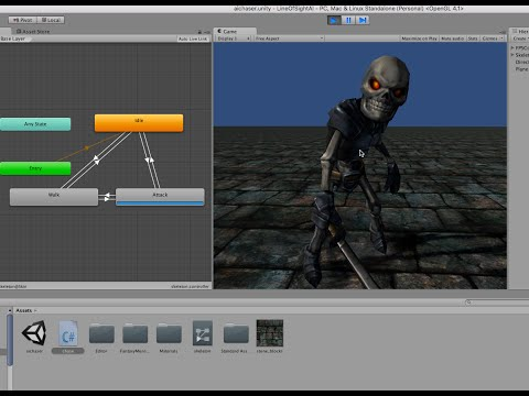 Basic Artificial Intelligence for a Non-Player Character with Unity 5