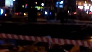 Смотреть видео Москва Люблино. Взрыв в заправке. онлайн