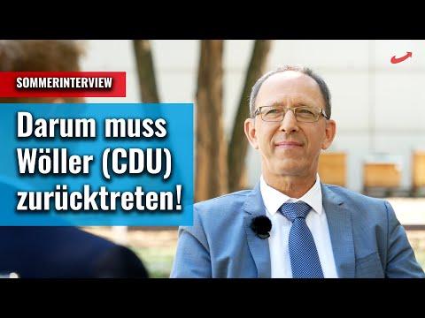 +++ Jörg Urban: Der Rücktritt von Innenminister Roland Wöller (CDU) ist überfällig! +++