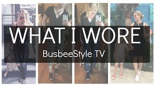 What I Wore | September 2016 | BusbeeStyle TV