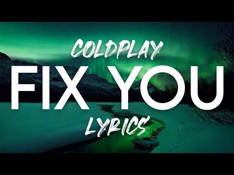 Coldplay - Fix You Lyrics Mp3