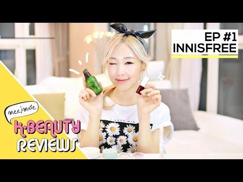 The Best of Innisfree Makeup & Skincare 이니스프리의 베스트 제품들 | MEEJMUSE