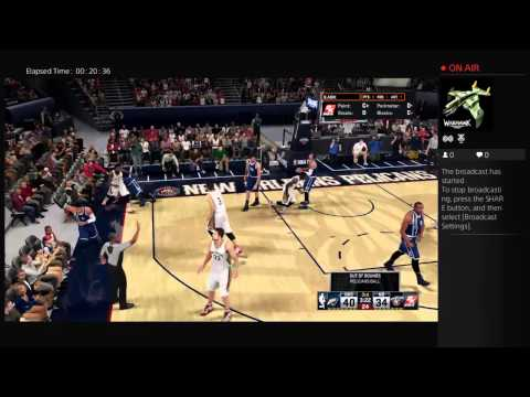 FIREFROMDA8Os's Live PS4 Broadcast Anthony davis At it again2