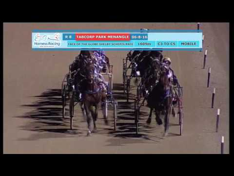 TABCORP PK MENANGLE - 06/08/2016 - Race 8 - FACE OF THE GLOBE SHELBY SCHEPIS PACE