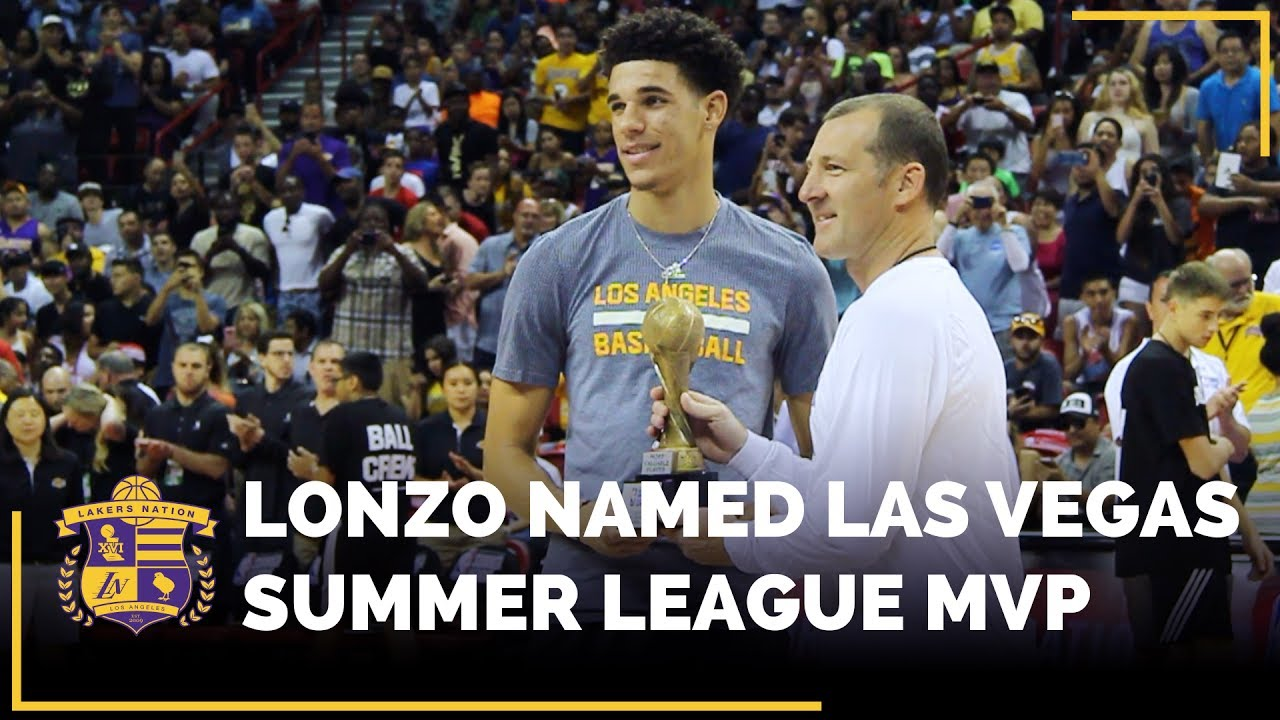 1b59bfdb86d Lonzo Ball Named 2017 NBA Summer League MVP, First Laker In History ...