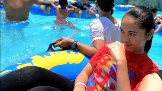 Sangkan water park Kuningan Jawa Barat Serunya bermain Wahana Air