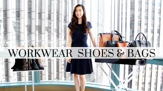 Workwear Bags & Shoes, workwear essentials, workwear bags, workwear shoes