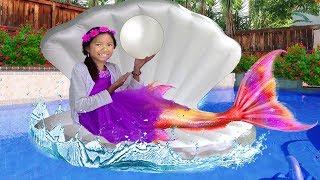 Wendy Se Viste a Sirenita Ariel | Fiesta de Cumpleaños