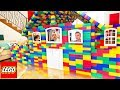 BUILDING GIANT LEGO HOUSE! *BAD IDEA* (With MooseCraft)
