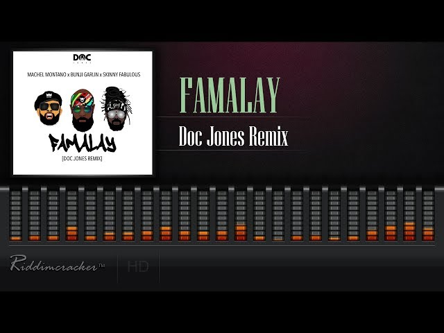 Machel Montano x Skinny Fabulous x Bunji Garlin - Famalay (Doc Jones Remix) [2019 Soca] [HD]