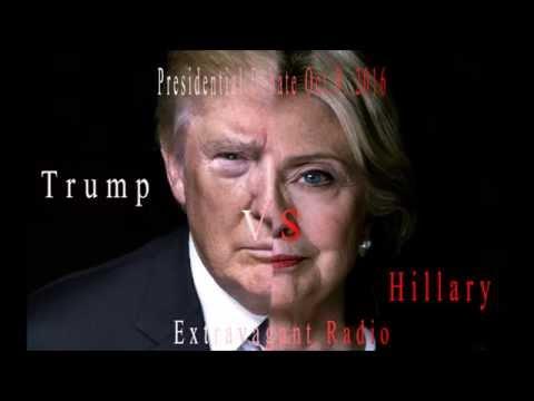 Presidential Debate Talk  Trump vs Hillary Oct 9, 2016 Extravagant Radio