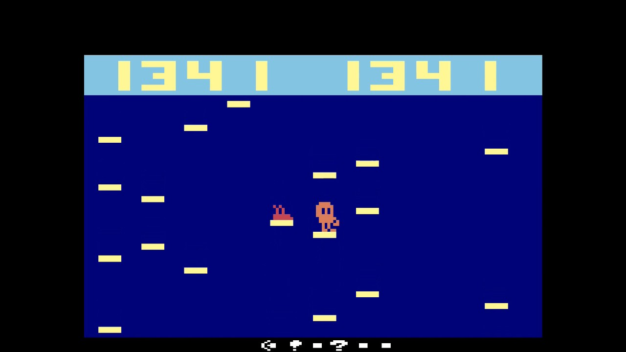MiSTer (FPGA) Atari 2600: Q*bert Jump (Free Play Florida 2018)(Hack)