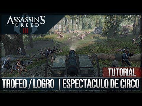 Assassin's Creed 3 - Walkthrough Guía Español - Trofeo / Logro - Espectáculo de circo