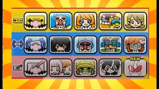 Warioware GOLD groups, MASH, TWIST and TOUCH teams in Warioware get it together ( Super Hard)