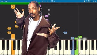 Snoop Dogg - Ain't Nut'in Personal - Piano Tutorial