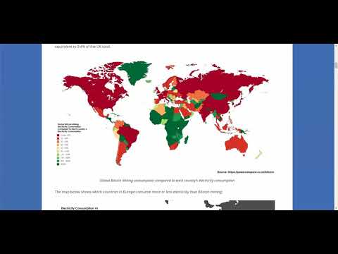 Bitcoin Mining Now Consuming More Electricity Than 159 Countries Like Ireland & Most Of Africa