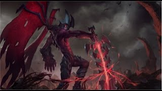 Jungling: A to Z. Aatrox Jungle Full Game Commentary!